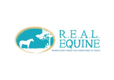 Vanessa-Ooms---Logo-Design---REAL-Equine
