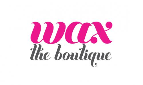 Glass Lake Studios - Logo Design - Wax the Boutique